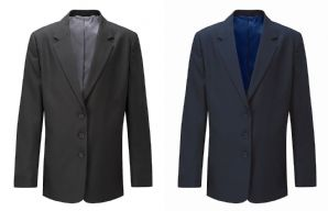 Designer Zip Entry Blazer